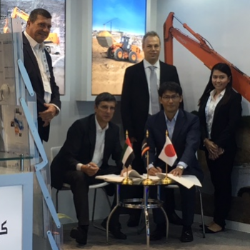 Hitachi signs Middle East Crane as UAE distributor