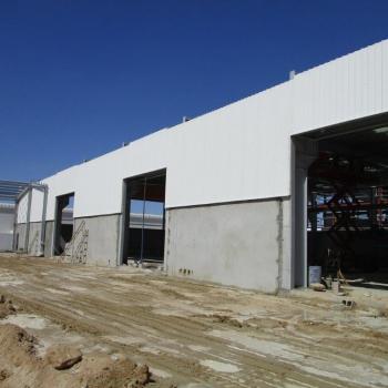 Progress new facilities under construction - Middle East Crane