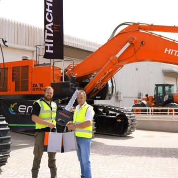 A successfull delivery of 4 new ZX870 to EMW