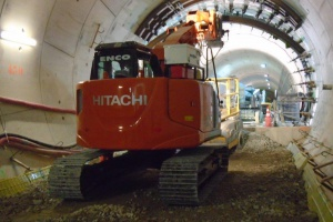 Tunneling excavators