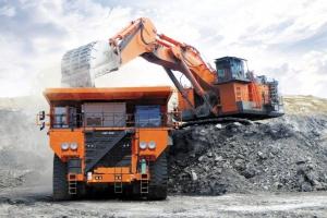 Mining dumptrucks