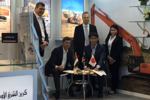 Hitachi signs Middle East Crane as UAE distributor
