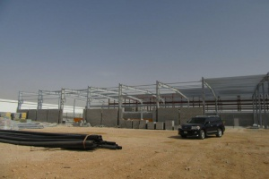 Progress new facilities under construction - Middle East Crane