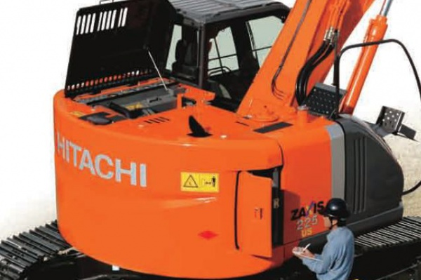 Operating weight: 23,2 t