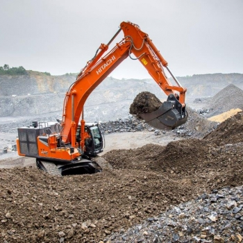 Next generation of Zaxis-7 large excavators
