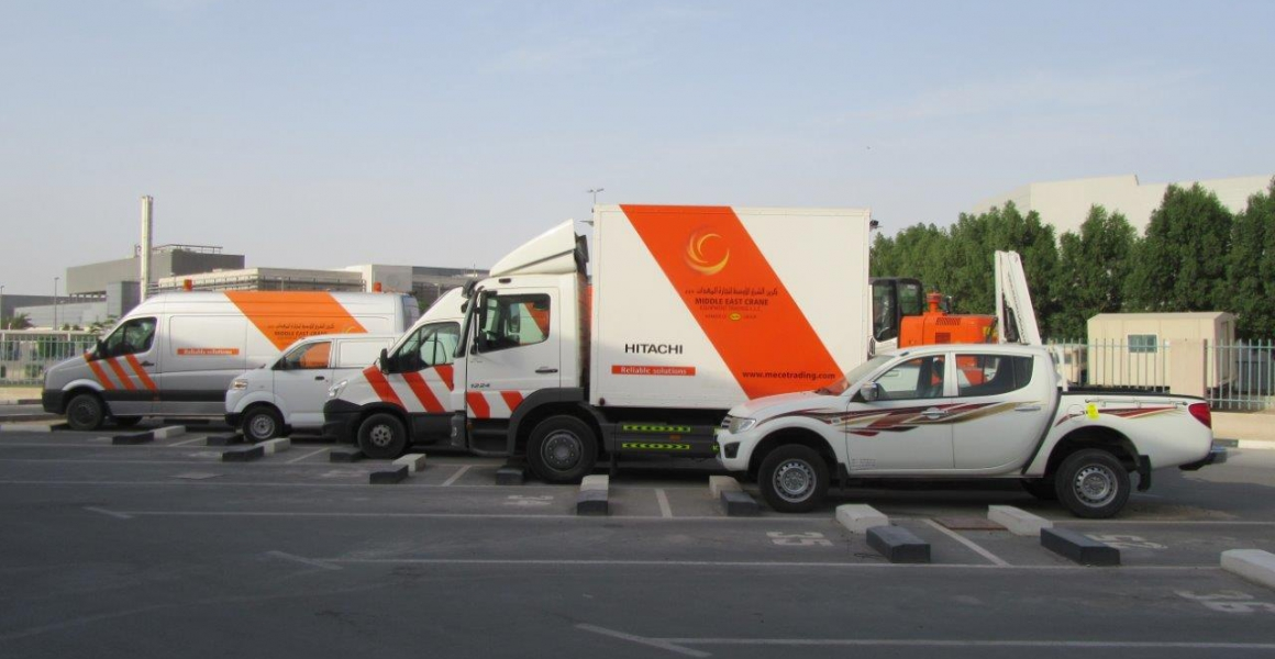 Middle East Crane expands its service fleet